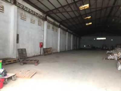 Cho thuê kho xưởng mặt tiền đường Tỉnh lộ 10 - quận Bình Tân