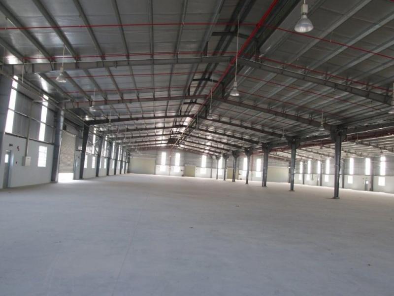Công ty cần cho thuê gấp kho xưởng mới xây đầy đủ các tiện ích, mặt tiền trong KCN Giang Điền
