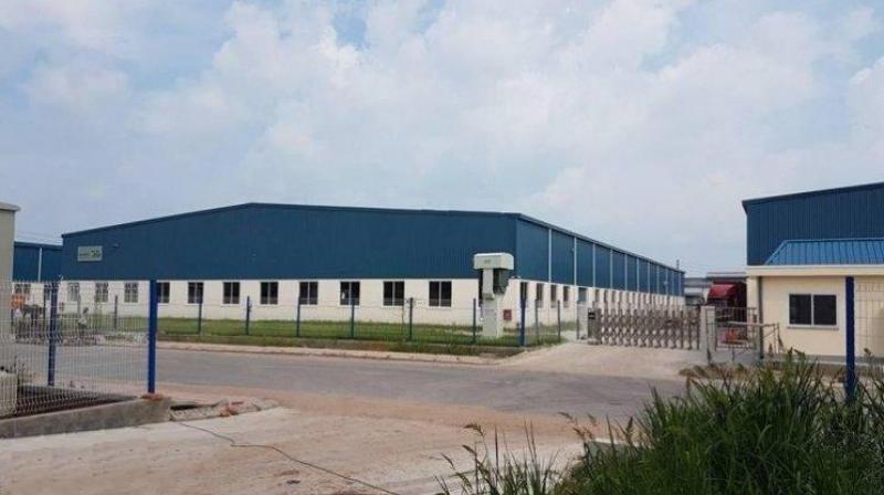 Cho thuê xưởng tại thành phố Hải Dương 1600m, 2000m