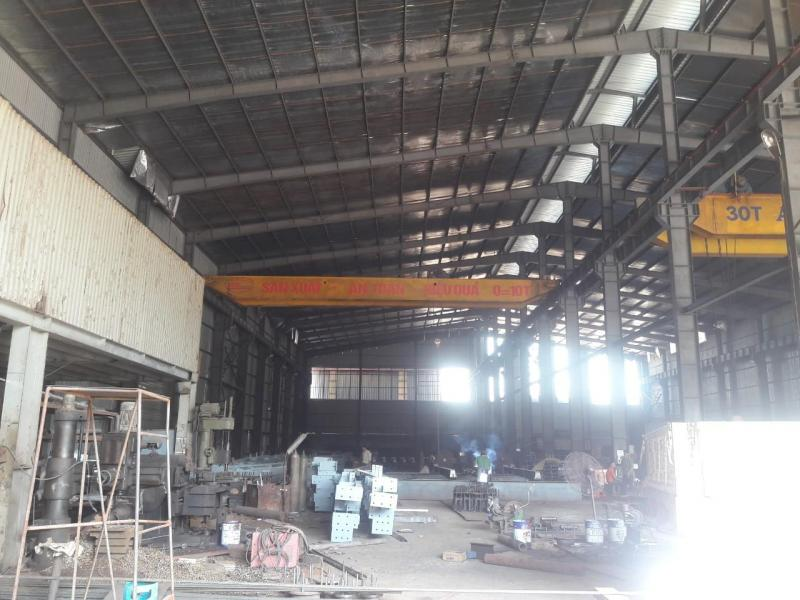 Cho thuê xưởng trong KCN Thị xã Sơn Tây Hà Nội 2810m khuôn viên 4010m