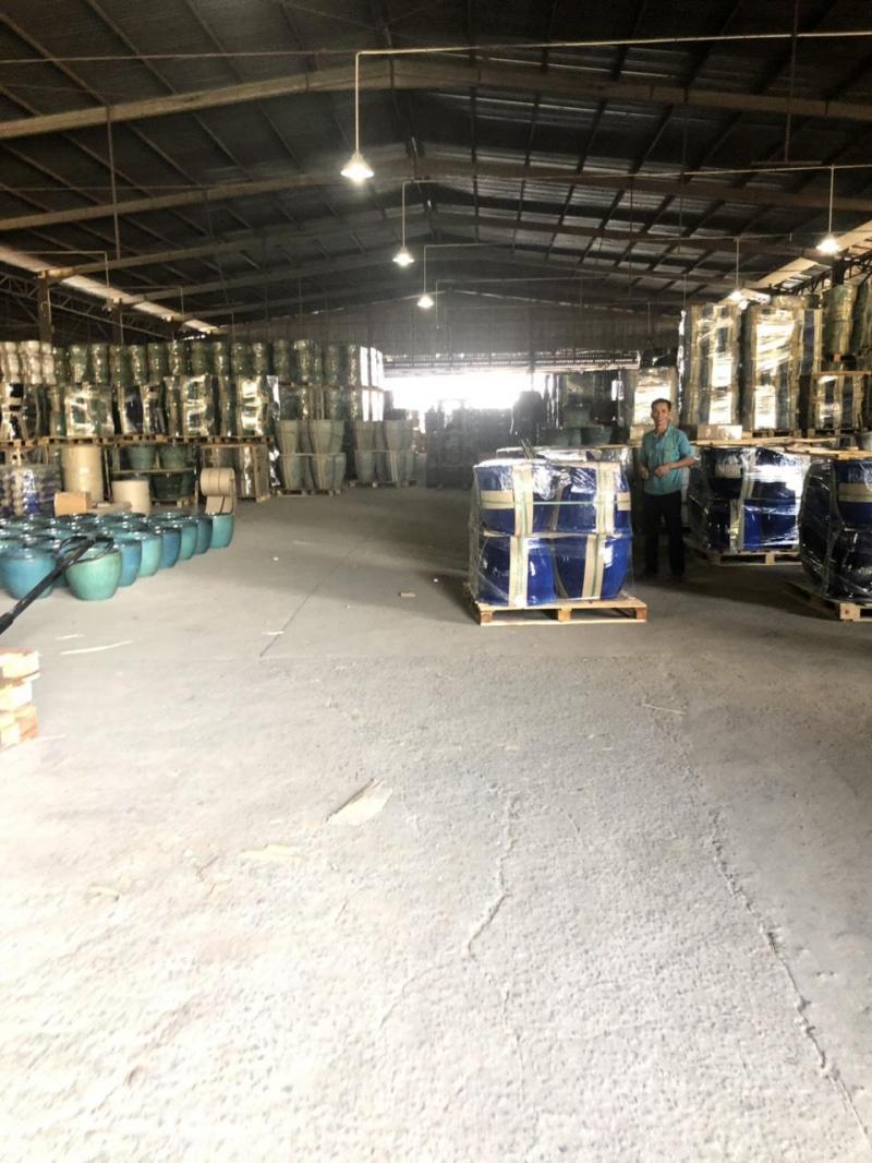 Cần cho thuê xưởng Thuận An, Bình Dương. KV: 6.500m2 (NX: 5.000m2). Đường container.