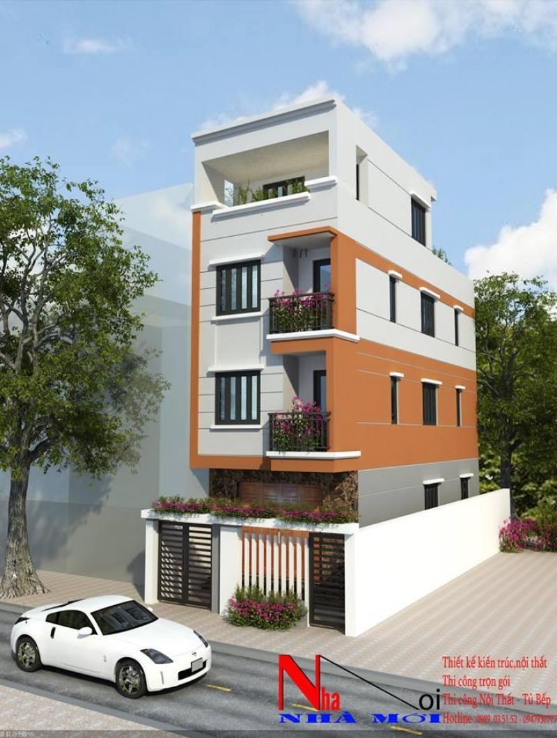 Thiết kế thi công xây dựng nhà ống, biệt thự tại  Hà Nội
