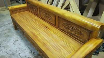 Trường kỷ gỗ mít ta Thái Nguyên cực chất và lạ