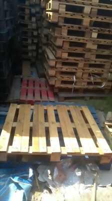Thanh lý pallet gỗ 75k, thùng rác công nghiệp