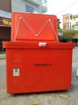 Thùng đá - thùng giữ lạnh 800L - thùng đá giá rẻ.