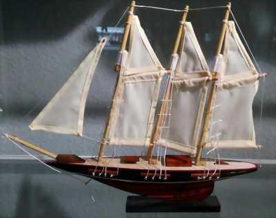 Thuyền gỗ Atlantic mini