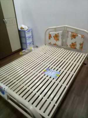 Giường sắt đơn tháo ráp ; sơn tĩnh điện mới 100%
