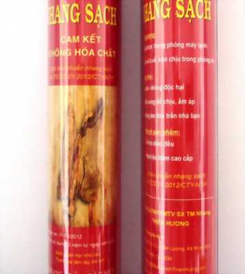 Nhang trầm hương nguyên chất có tăm dài 40cm