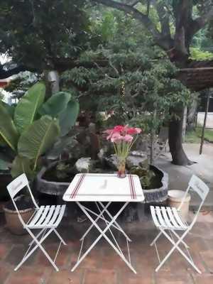 Bộ bàn ghế sắt sơn tỉnh điện xuất dư tại Zens Group