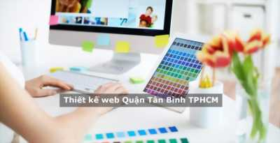 Dịch vụ thiết kế web tại Quận Tân Bình