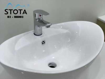 Combo vòi +  chậu lavabo STOTA chưa đến 2 triệu đồng