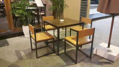 Nhiều mẫu bàn ghế cà phê mới, đẹp