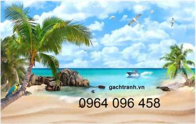 gạch 3d phong cảnh biển
