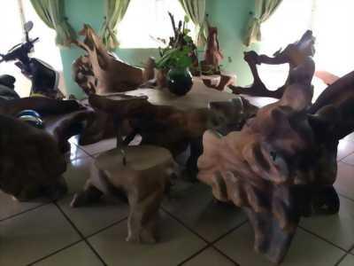 bàn ghế gỗ hương nhập bao đẹp