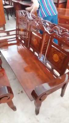 Bộ ghế salon tay cuốn xưa