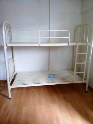 Giường sắt 2 tầng rộng 80 cm mới 100%
