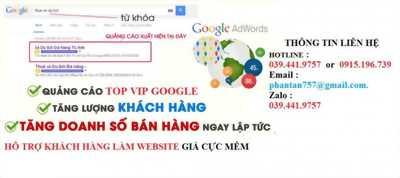 quảng cáo google giá rẻ toàn quốc