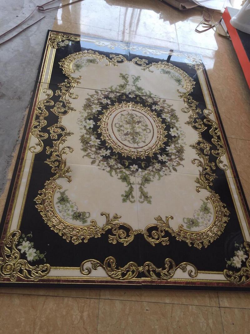 Gạch thảm cho sảnh phòng khách