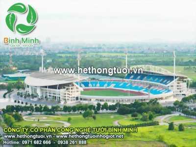 Tưới cảnh quan sân vườn, vòi tưới sân vận động, vòi phun tưới sân bóng đá, vòi phun tưới sân cỏ