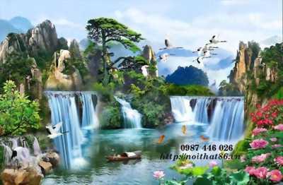 Tranh thiên nhiên- gạch tranh 3d