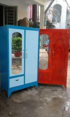 Tủ sắt quần áo giá rẻ