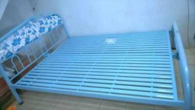 Giường sắt đơn sơn tĩnh điện.