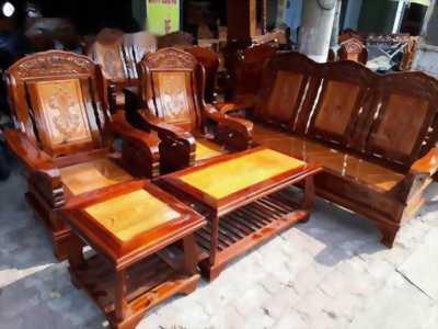 Bộ salong gỗ tràm 5 món