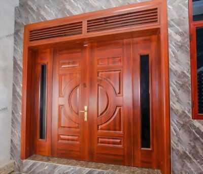 Ưu điểm vượt trội cửa thép vân gỗ