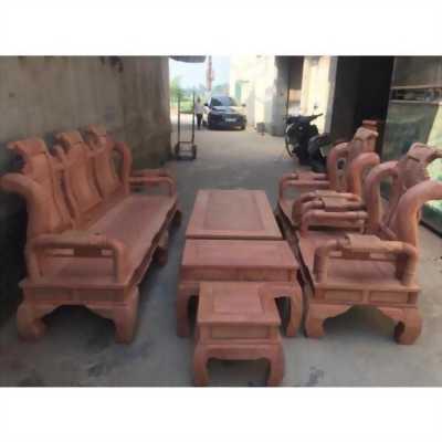Bộ tần thủy hoàng gỗ hương đá tay 10 tại Hà Nội