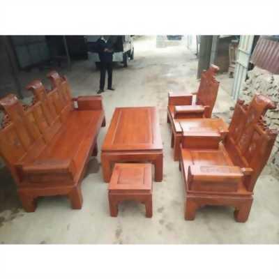 Bộ bàn ghế âu á kiểu cuốn thư tay hộp gỗ lim