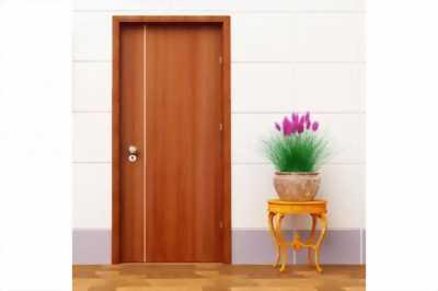 Cung cấp và lắp đặt cửa HDF, MDF giả vân gỗ cửa phòng