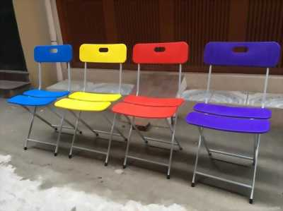 Thanh lý 10 bàn và 40 ghế xếp