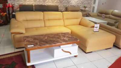 Top sofa góc 2,7m da công nghiệp nhập khẩu Hàn Quốc