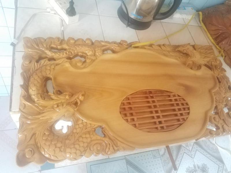 Khay trà gỗ mỹ nghệ
