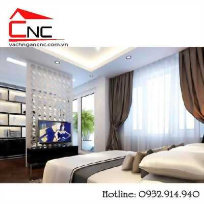 Vách ngăn CNC phòng ngủ - lựa chọn tốt cho việc trang trí và làm đẹp