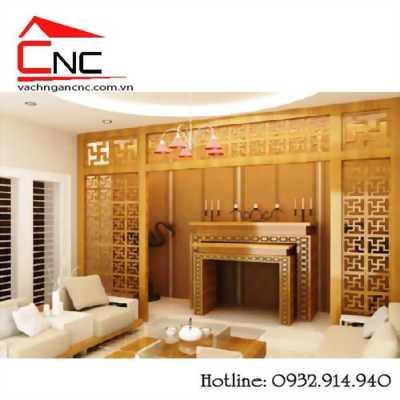 Những mẫu vách ngăn bàn thờ CNC cho nhà ở & căn hộ
