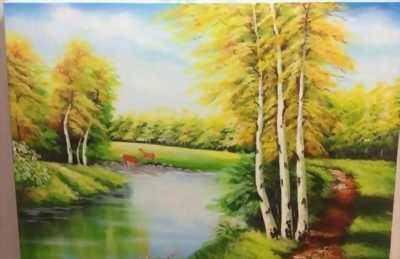 Nhận vẽ tường, vẽ tranh sơn dầu trang trí nội thất vừa rẻ vừa đẹp