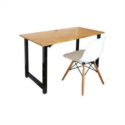 Cần bán bộ bà ghế làm việc chân sắt mặt gỗ