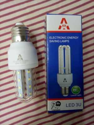 Bóng Đèn 3U LED tiết kiệm điện 5w, 12w, 16w đuôi E27