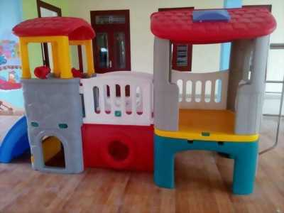 Chuyên tư vấn thiết kế, lắp đặt mới khu vui chơi cho trẻ em