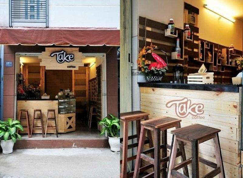 Thiết kế thi công nội thất quán cafe quận 12