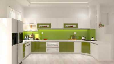 Tủ bếp hiện đại, thiết kế độc đáo