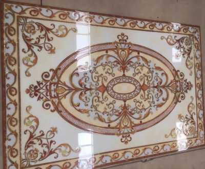 Gạch thảm trang trí phòng khách, chân cầu thang
