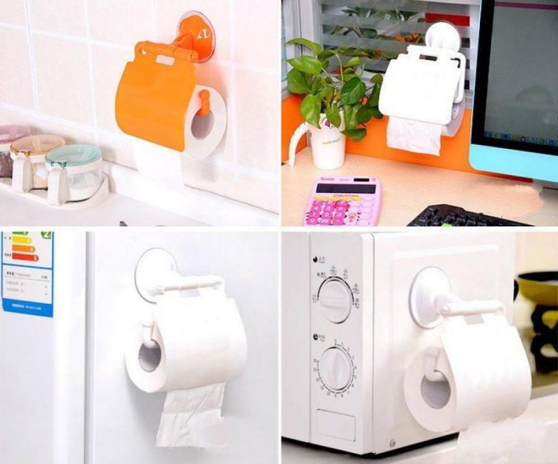 Dụng cụ treo cuộn giấy vệ sinh loại hít tốt GD0021
