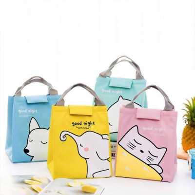 Túi giữ nhiệt đựng đồ ăn hình thú màu sắc GD0034
