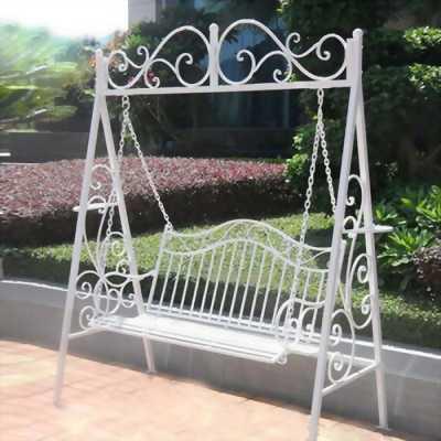 Mình cần thanh lý Xích đu sân vườn làm từ Inox và sắt đặc
