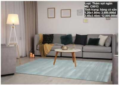 Thảm sofa, thảm lót ghế sofa, thảm sofa nhập khẩu có sẵn tại Nội Thất Decoviet