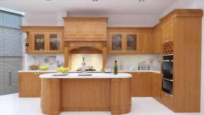 Thiết kế thi công tủ bếp giá rẻ tại tphcm, miễn phí thiết kế khi thi công