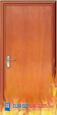 4 lý do cửa gỗ chống cháy được thị trường ưa chuộng