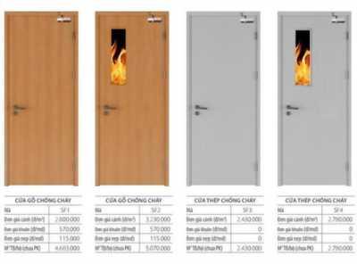 Nên lắp đặt cửa gỗ chống cháy ở đâu là phù hợp nhất